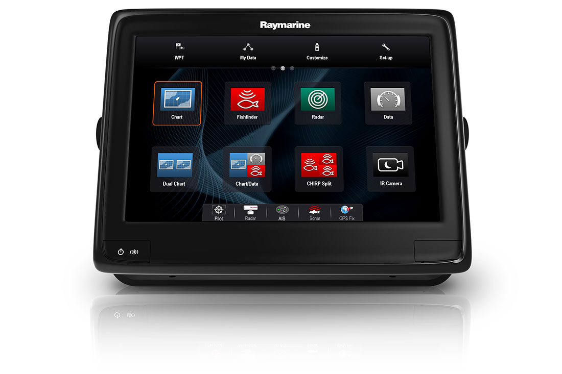 display multifunzione raymarine a series