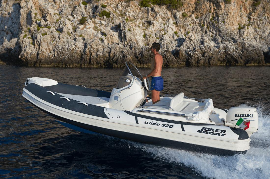 joker boat wide 520