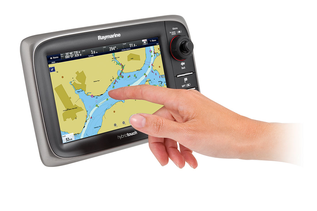 touch screen display multifunzione raymarine